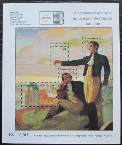 Poštovní známky Venezuela 1978 Umìní, Tito Salas Mi# Block 23 Kat 30€