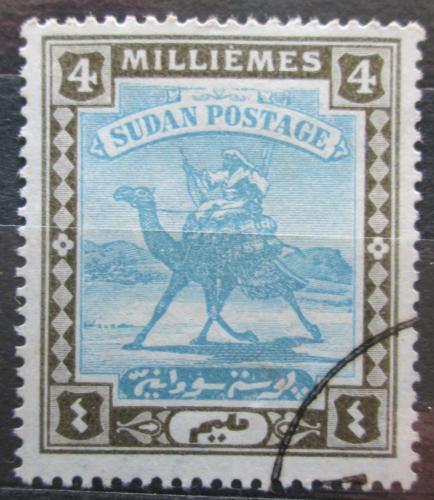 Poštovní známka Súdán 1907 Jezdec na velbloudovi Mi# 20