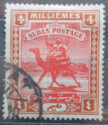 Poštovní známka Súdán 1907 Jezdec na velbloudovi Mi# 21