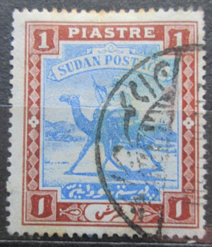 Poštovní známka Súdán 1903 Jezdec na velbloudovi Mi# 23