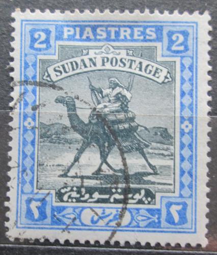 Poštovní známka Súdán 1908 Jezdec na velbloudovi Mi# 24