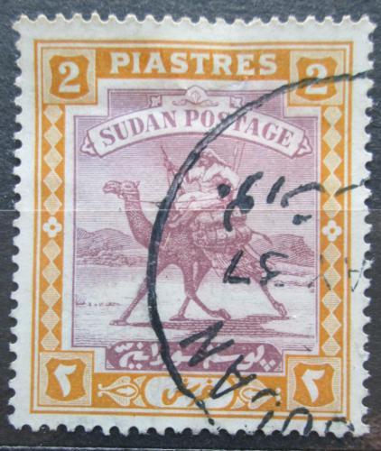 Poštovní známka Súdán 1927 Jezdec na velbloudovi Mi# 43