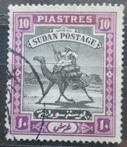 Poštovní známka Súdán 1927 Jezdec na velbloudovi Mi# 49