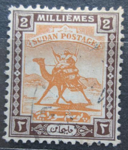 Poštovní známka Súdán 1921 Jezdec na velbloudovi Mi# 30a Kat 10€