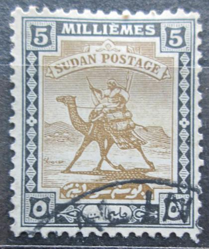 Poštovní známka Súdán 1927 Jezdec na velbloudovi Mi# 40