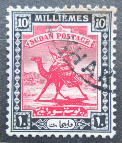 Poštovní známka Súdán 1927 Jezdec na velbloudovi Mi# 41