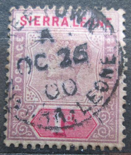 Poštovní známka Sierra Leone 1896 Královna Viktorie Mi# 25