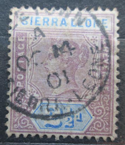 Poštovní známka Sierra Leone 1896 Královna Viktorie Mi# 28