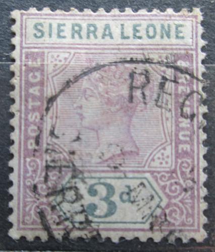 Poštovní známka Sierra Leone 1896 Královna Viktorie Mi# 29 Kat 10€