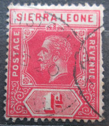 Poštovní známka Sierra Leone 1912 Král Jiøí V. Mi# 82 a