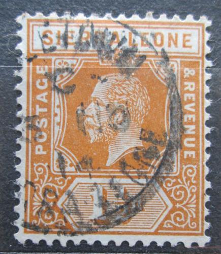 Poštovní známka Sierra Leone 1912 Král Jiøí V. Mi# 83