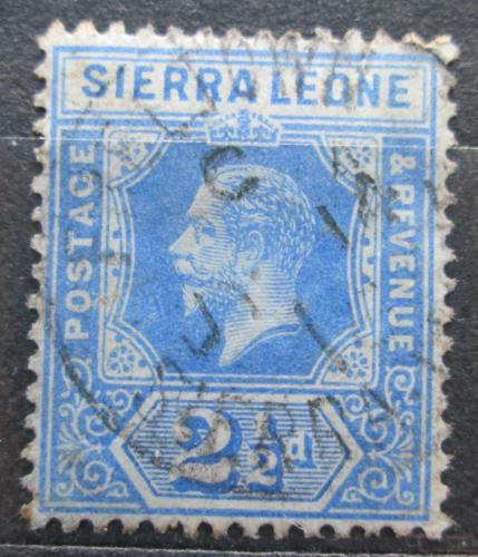 Poštovní známka Sierra Leone 1912 Král Jiøí V. Mi# 85 a