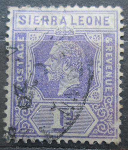 Poštovní známka Sierra Leone 1926 Král Jiøí V. Mi# 101 II