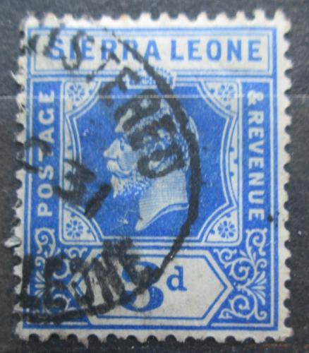 Poštovní známka Sierra Leone 1921 Král Jiøí V. Mi# 105