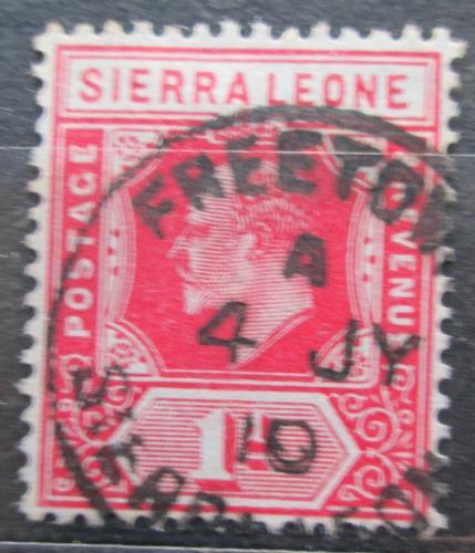 Poštovní známka Sierra Leone 1907 Král Edward VII. Mi# 69