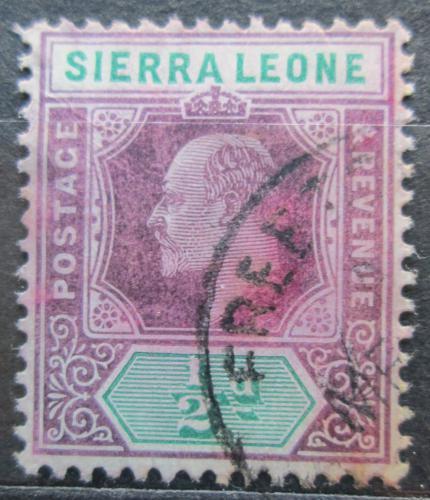 Poštovní známka Sierra Leone 1905 Král Edward VII. Mi# 55 Kat 7€