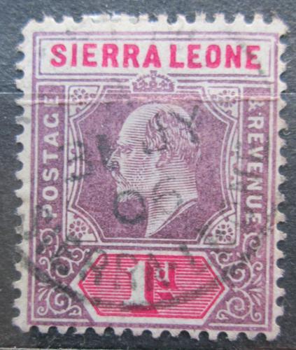 Poštovní známka Sierra Leone 1903 Král Edward VII. Mi# 43