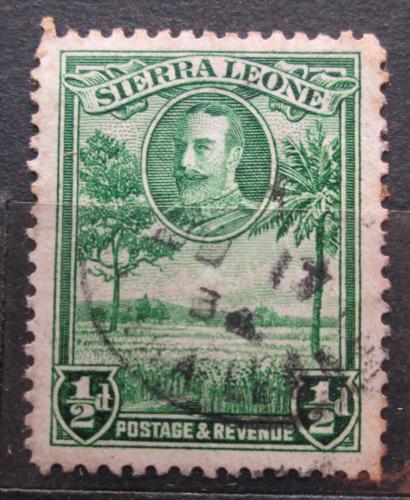 Poštovní známka Sierra Leone 1932 Rýžové pole Mi# 118