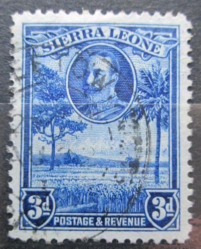 Poštovní známka Sierra Leone 1932 Rýžové pole Mi# 122