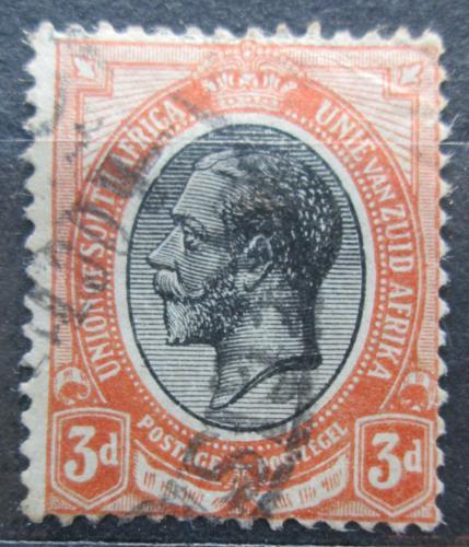 Poštovní známka JAR 1913 Král Jiøí V. Mi# 7