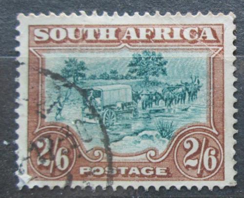 Poštovní známka JAR 1927 Povoz tažený osli Mi# 37 A Kat 25€