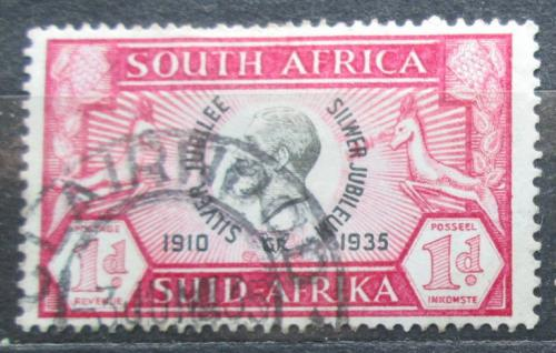 Poštovní známka JAR 1935 Král Jiøí V. Mi# 97
