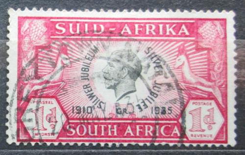 Poštovní známka JAR 1935 Král Jiøí V. Mi# 98