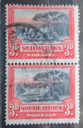 Poštovní známky JAR 1930 Groote Schuur Mi# 31-32 C Kat 70€