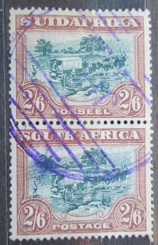 Poštovní známky JAR 1945 Povoz tažený osli Mi# 65-66 Kat 18€
