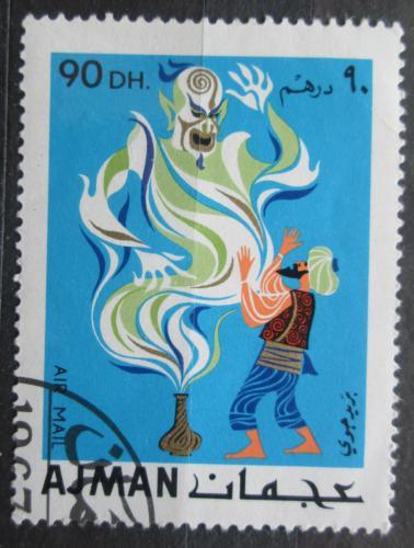 Poštovní známka Adžmán 1967 Pohádky Tisíce a jedné noci Mi# 172