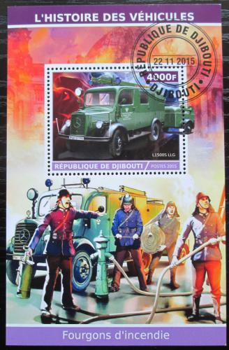 Poštovní známka Džibutsko 2015 Hasièi Mi# N/N