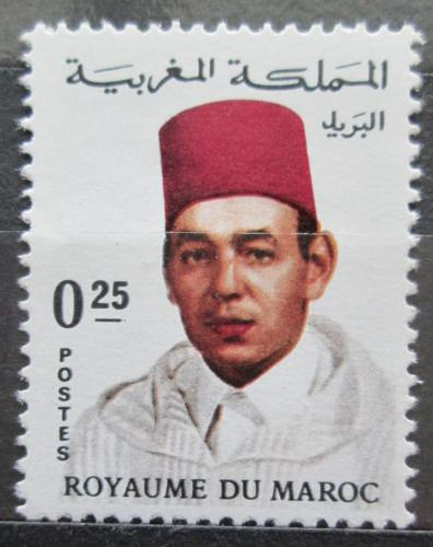 Poštovní známka Maroko 1968 Král Hassan II. Mi# 605