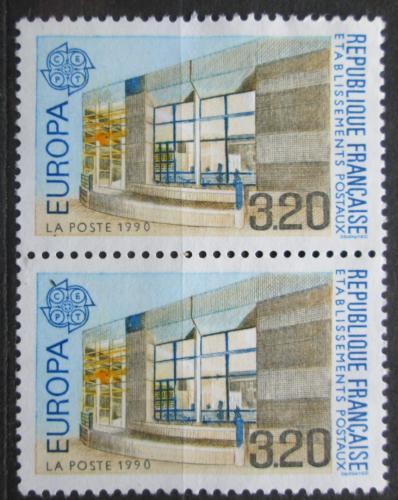 Poštovní známky Francie 1990 Evropa CEPT, pošta, pár Mi# 2771