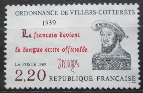 Poštovní známka Francie 1989 Král František I. Mi# 2746