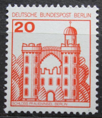 Poštovní známka Západní Berlín 1977 Zámek Pfaueninsel, Berlín Mi# 533 A I
