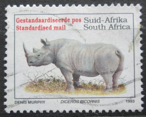 Poštovní známka JAR 1993 Nosorožec dvourohý Mi# 896 IA