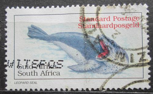 Poštovní známka JAR 1997 Tuleò leopardí Mi# 1083