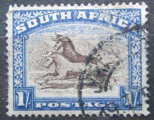 Poštovní známka JAR 1939 Pakùò žíhaný Mi# 89