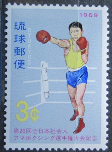 Poštovní známka Rjúkjú 1969 Box Mi# 210
