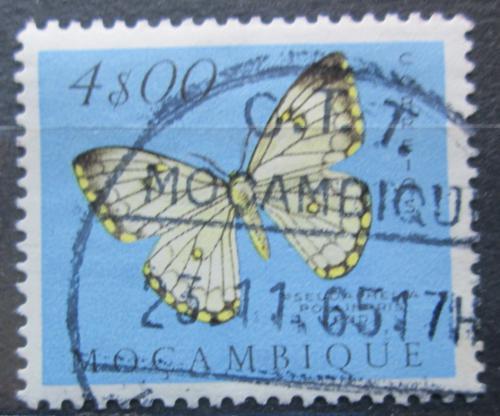 Poštovní známka Mosambik 1953 Pseudaphelia apollinaris Mi# 430
