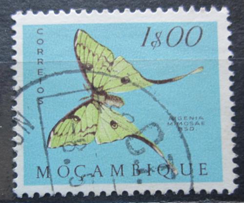 Poštovní známka Mosambik 1953 Argema mimosae Mi# 424