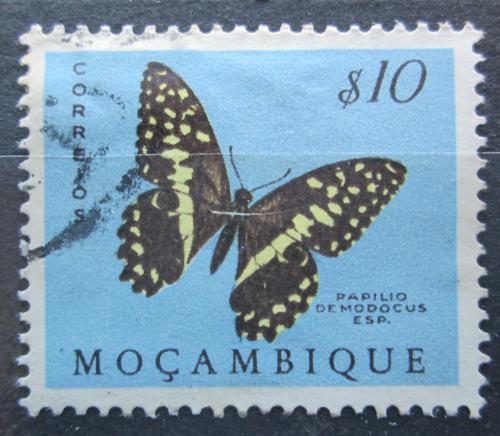 Poštovní známka Mosambik 1953 Papilio demodocus Mi# 417