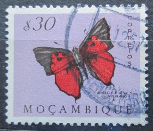 Poštovní známka Mosambik 1953 Axiocerses harpax Mi# 420