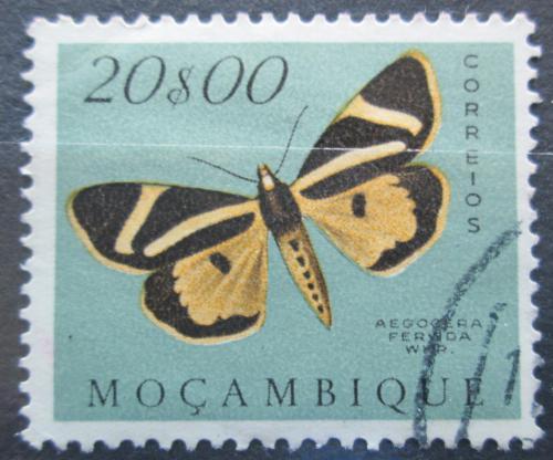 Poštovní známka Mosambik 1953 Aegocera fervida Mi# 436