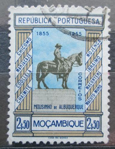 Poštovní známka Mosambik 1955 Památník generála Albuquerque Mi# 452
