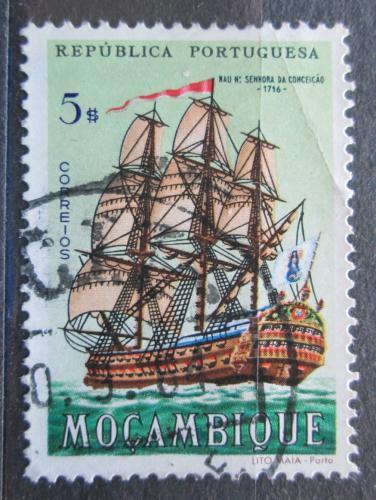 Poštovní známka Mosambik 1963 Plachetnice Nossa Senhora da Conceicão Mi# 505