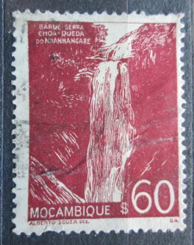 Poštovní známka Mosambik 1948 Vodopády Nhanghangare Mi# 359