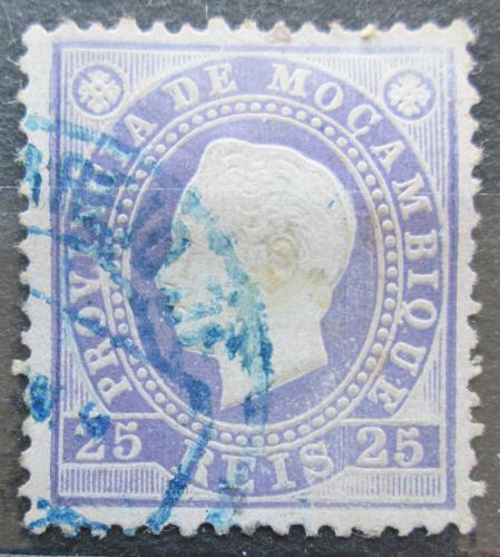 Poštovní známka Mosambik 1886 Král Ludvík I. Mi# 18 A