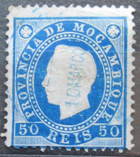 Poštovní známka Mosambik 1886 Král Ludvík I. Mi# 20 A