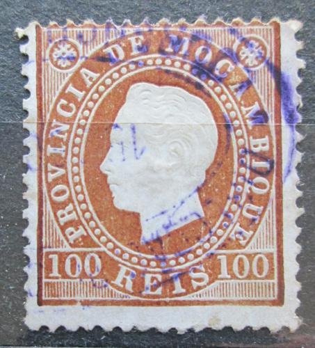 Poštovní známka Mosambik 1886 Král Ludvík I. Mi# 21 A